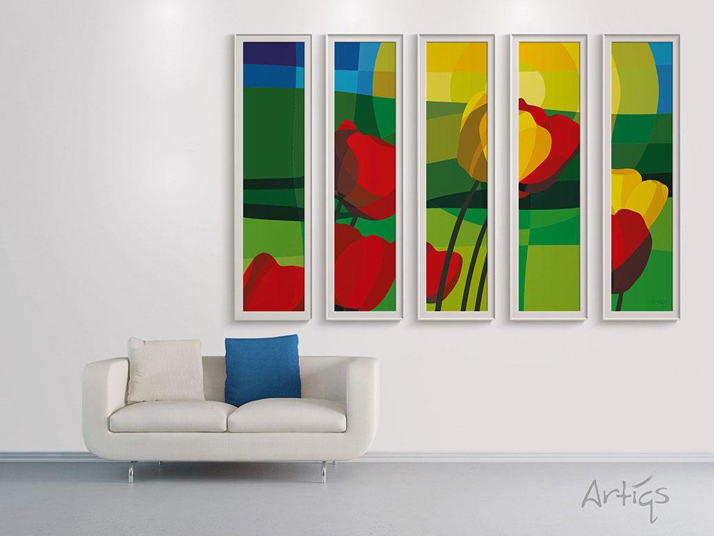 Artiqs grafisch ontwerp en interieur decoratie de mooiste ontwerpen aan de muur - Interieur decoratie ontwerp ...